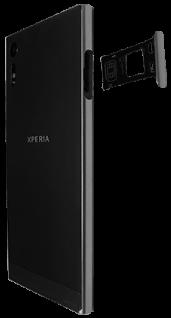 Sony Xperia XZ - Android Nougat - SIM-Karte - Einlegen - Schritt 3