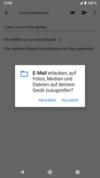 Sony Xperia XZ2 Premium - Android Pie - E-Mail - E-Mail versenden - Schritt 11
