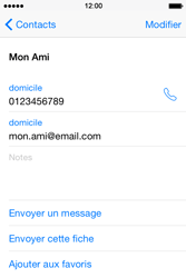 Apple iPhone 4S (iOS 8) - Contact, Appels, SMS/MMS - Ajouter un contact - Étape 15