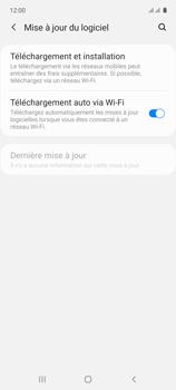 Samsung Galaxy A71 - Aller plus loin - Mettre à jour le logiciel interne de votre mobile - Étape 6