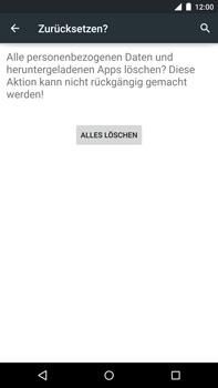Motorola Google Nexus 6 - Fehlerbehebung - Handy zurücksetzen - 9 / 11