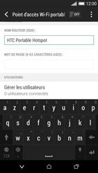 HTC Desire 610 - Internet et connexion - Partager votre connexion en Wi-Fi - Étape 9