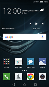 Huawei P9 Plus - E-Mail - Konto einrichten (gmail) - Schritt 2