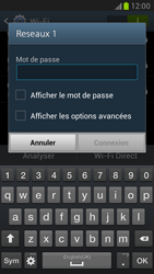 Samsung N7100 Galaxy Note II - Wifi - configuration manuelle - Étape 6