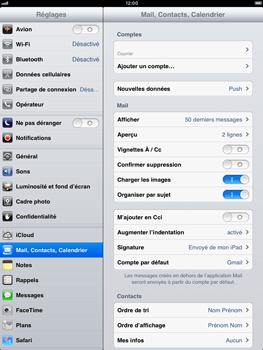 Apple iPad Retina - E-mail - Configuration manuelle - Étape 8