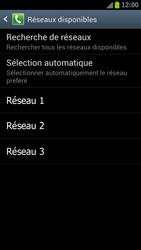 Samsung I9300 Galaxy S III - Réseau - Sélection manuelle du réseau - Étape 9