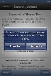 Apple iPhone 3GS - Applicazioni - Configurazione del negozio applicazioni - Fase 7