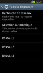 Samsung Galaxy Trend Lite - Réseau - Sélection manuelle du réseau - Étape 8