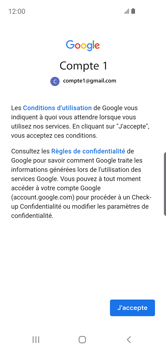 Samsung Galaxy S10e - E-mail - 032a. Email wizard - Gmail - Étape 11