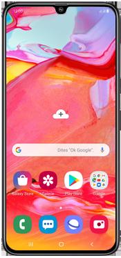 Samsung Galaxy A70 - Téléphone mobile - Comment effectuer une réinitialisation logicielle - Étape 2