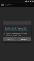 Sony Xperia S - Applicazioni - Configurazione del negozio applicazioni - Fase 15