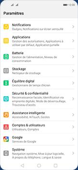 Huawei Nova 5T - Téléphone mobile - Réinitialisation de la configuration d