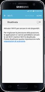 Alcatel MiFi Y900 - Operazioni iniziali - come connettere il modem allo smartphone o al tablet - Fase 6