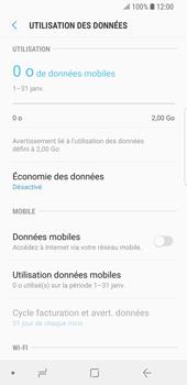 Samsung Galaxy S9 - Internet et roaming de données - Comment vérifier que la connexion des données est activée - Étape 6