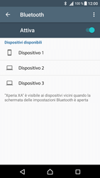 Sony Xperia XA - Bluetooth - Collegamento dei dispositivi - Fase 6