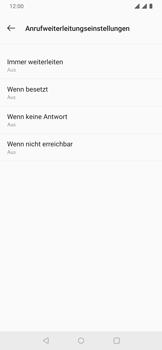 OnePlus 6T - Anrufe - Rufumleitungen setzen und löschen - 10 / 14
