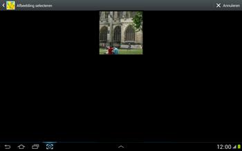 Samsung N8000 Galaxy Note 10-1 - E-mail - hoe te versturen - Stap 12