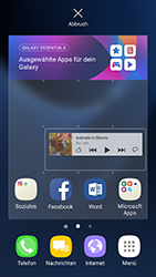 Samsung Galaxy S7 Edge - Android N - Startanleitung - Installieren von Widgets und Apps auf der Startseite - Schritt 7