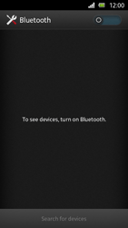 Sony Xperia U - Bluetooth - Connecting devices - Step 5
