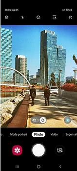 Samsung Galaxy A70 - Photos, vidéos, musique - Créer une vidéo - Étape 6