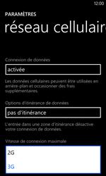Nokia Lumia 520 - Réseau - Changer mode réseau - Étape 6