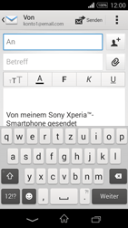 Sony Xperia E3 - E-Mail - E-Mail versenden - 5 / 16