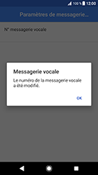Sony Xperia XZ (F8331) - Android Oreo - Messagerie vocale - Configuration manuelle - Étape 11