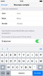 Apple iPhone 6 - Applications - Créer un compte - Étape 16