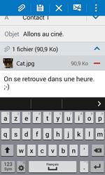 Samsung Galaxy Trend 2 Lite - E-mails - Envoyer un e-mail - Étape 18