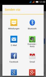Alcatel One Touch Pop C3 - Internet und Datenroaming - Verwenden des Internets - Schritt 19