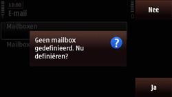 Nokia N97 Mini - E-mail - Handmatig instellen - Stap 7