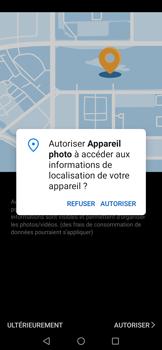 Huawei P Smart 2020 - Photos, vidéos, musique - Créer une vidéo - Étape 5
