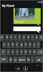 LG E900 Optimus 7 - MMS - Sending pictures - Step 8