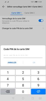 Huawei Y6 (2019) - Sécurité - modifier SIM PIN - Étape 9