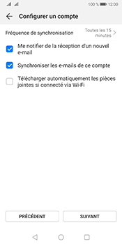 Huawei Mate 10 Pro Android Pie - E-mail - 032b. Email wizard - Yahoo - Étape 7