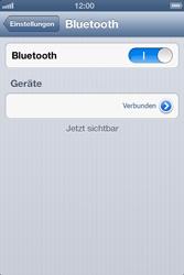Apple iPhone 4S - Bluetooth - Verbinden von Geräten - Schritt 9