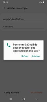 Samsung Galaxy A20e - E-mails - Ajouter ou modifier votre compte Outlook - Étape 9