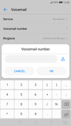 Huawei P10 - Voicemail - Manual configuration - Step 8