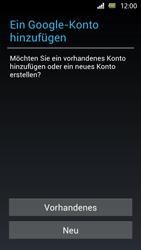 Sony Xperia U - Apps - Einrichten des App Stores - Schritt 4