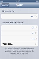 Apple iPhone 4 (iOS 6) - e-mail - handmatig instellen - stap 12
