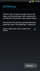 HTC One S - Apps - Konto anlegen und einrichten - 19 / 23