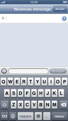Apple iPhone 5 - MMS - envoi d'images - Étape 3