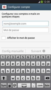 Samsung Galaxy Note 3 - E-mails - Ajouter ou modifier un compte e-mail - Étape 5