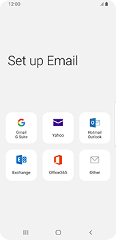 Samsung Galaxy S9 - Android Pie - E-mail - 032c. Email wizard - Outlook - Step 6