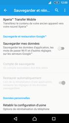 Sony Xperia Z5 Compact - Téléphone mobile - Réinitialisation de la configuration d
