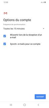 Samsung Galaxy S20 - E-mails - Ajouter ou modifier un compte e-mail - Étape 20