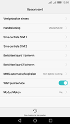 Huawei Y6 II - sms - handmatig instellen - stap 7