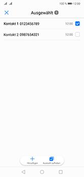 Huawei P20 Lite - Anrufe - Anrufe blockieren - 0 / 0