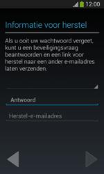 Samsung Galaxy S3 Mini Lite - apps - account instellen - stap 15
