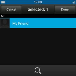 BlackBerry Q10 - E-mail - Sending emails - Step 8